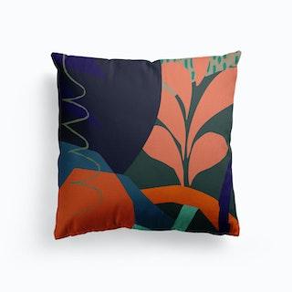 Crassula Canvas Cushion