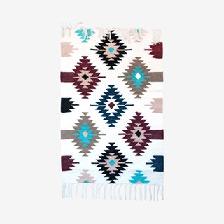 Handwoven Kilim Rug - Multicoloured