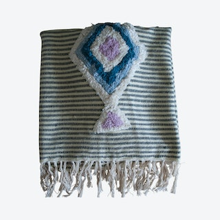 ACK Embellished Throw