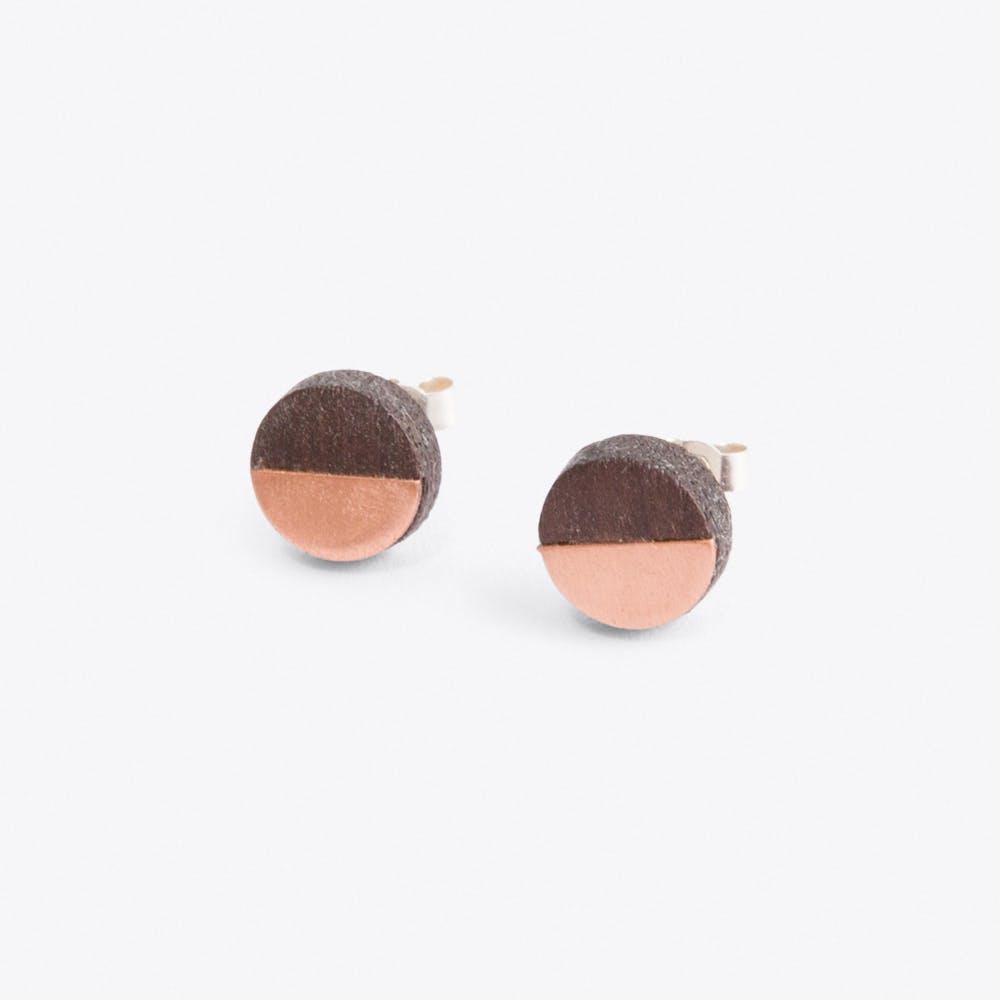 Josephine Earrings in Copper