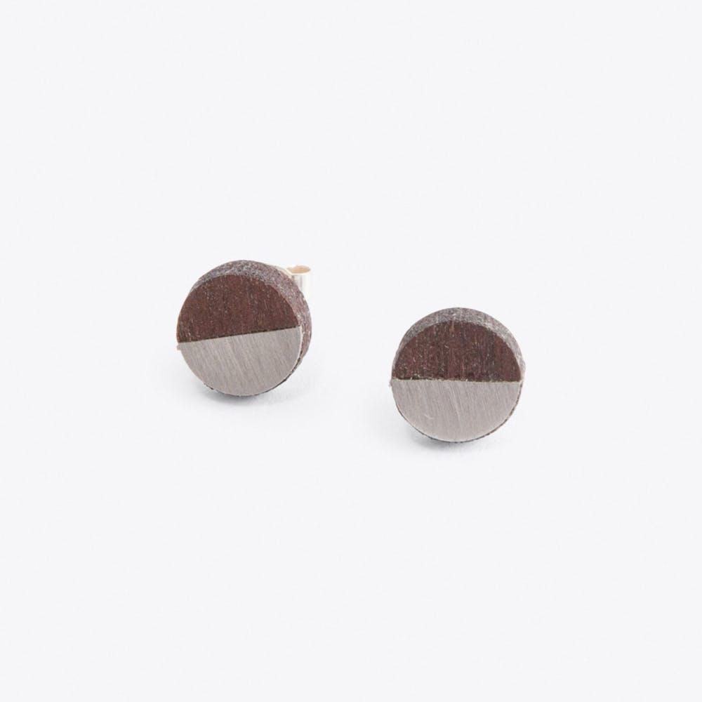Josephine Earrings in Steel