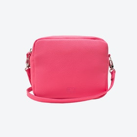 Box Crossbody Bag in Pink