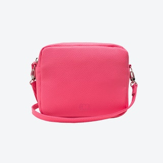 Box Crossbody Bag in Pink