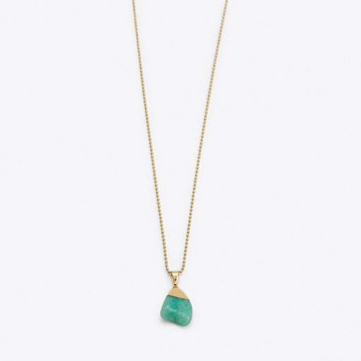 Amazonite Nugget Necklace