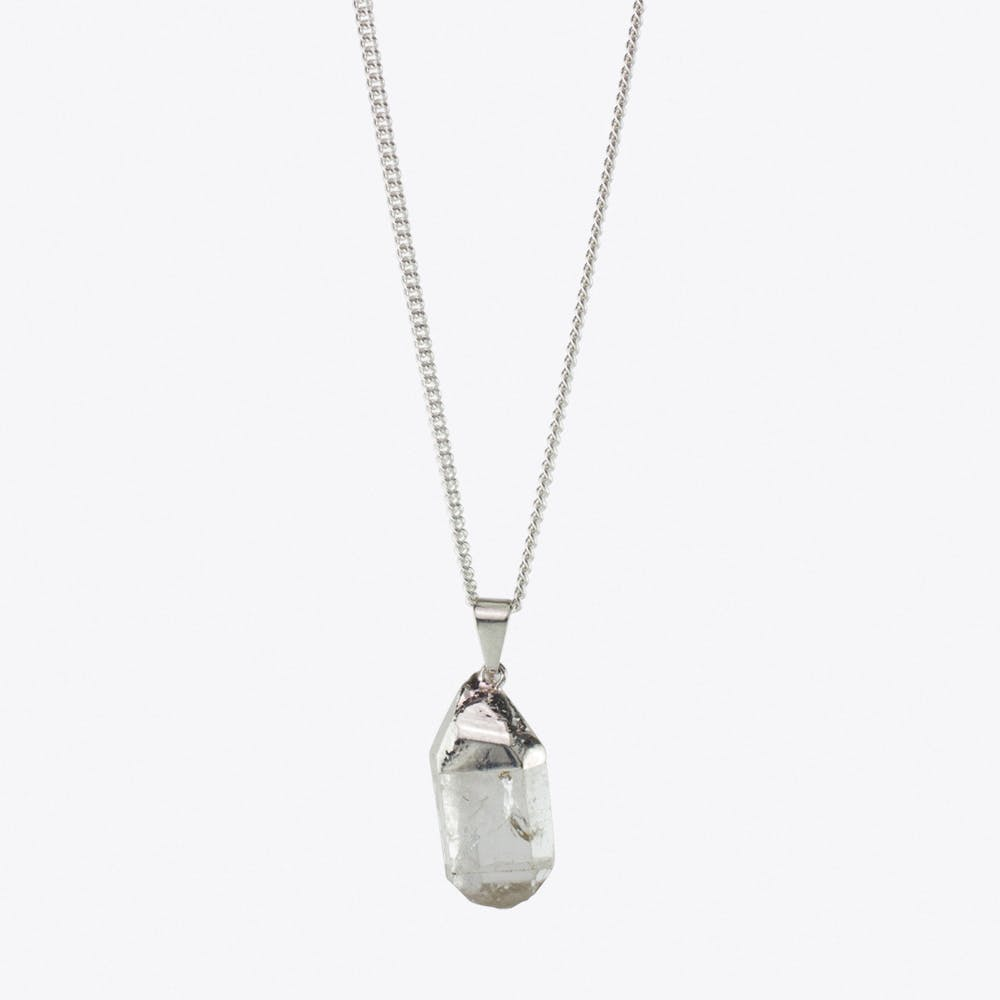 Spark Mountain Crystal Necklace