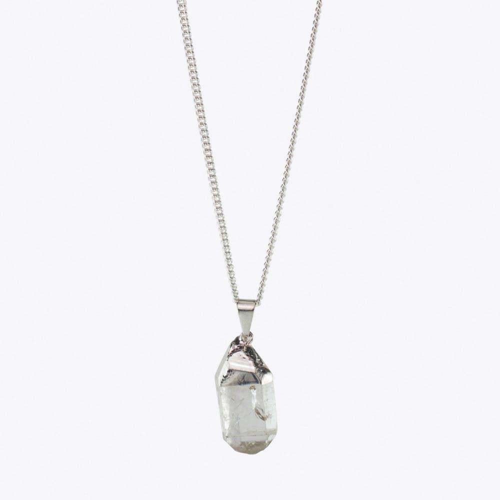Spark Mountain Crystal Necklace