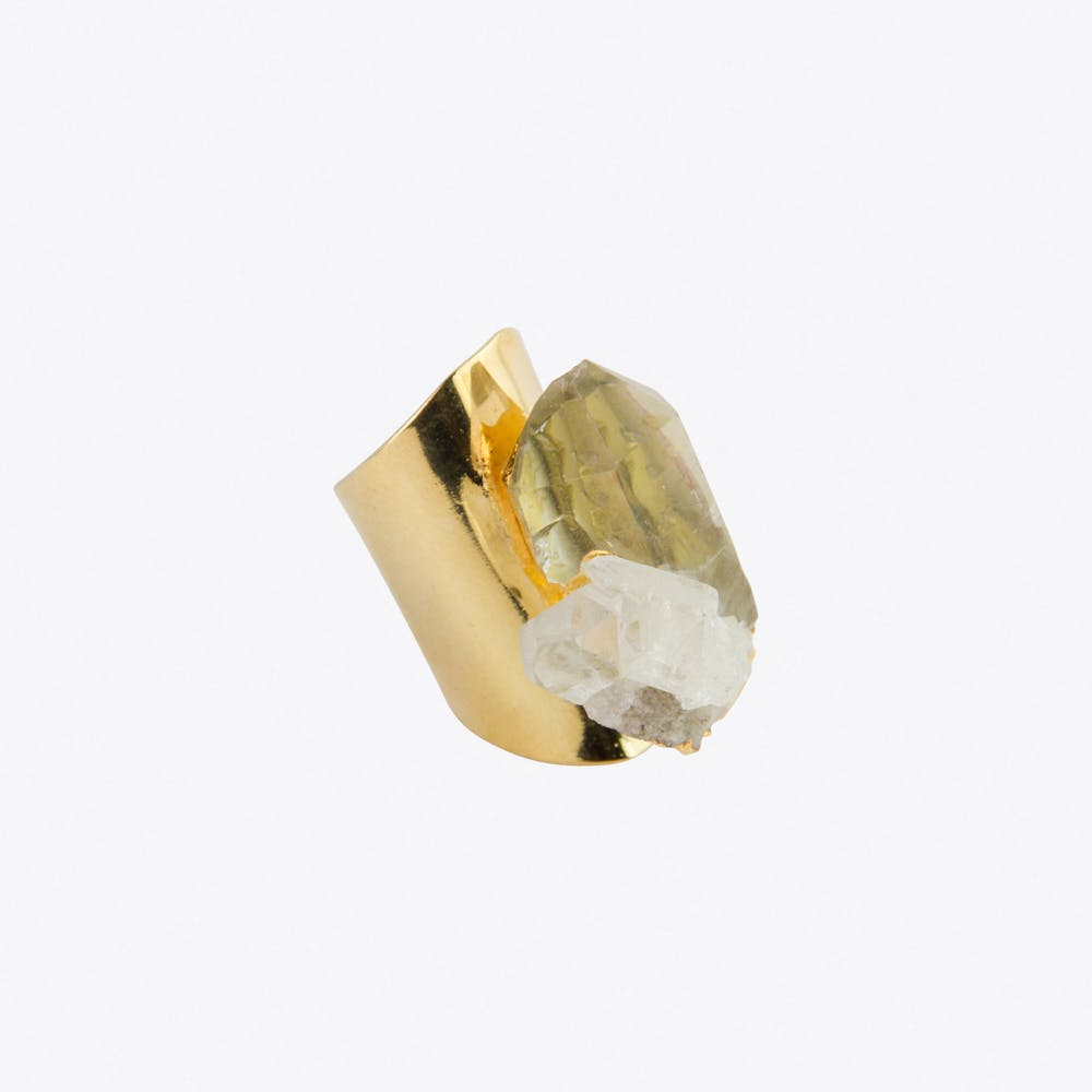 Mountain Crystal Ring