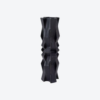 Tesselation 5 Vase - Mica Black
