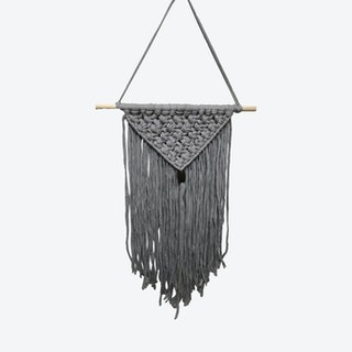 Washington Macrame Wall Hanging - Grey