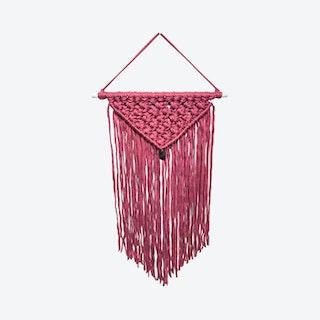 Hadley Macrame Wall Hanging - Hot Pink