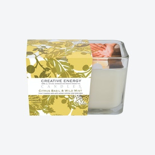 Scented Candle - Citrus Basil & Wild Mint
