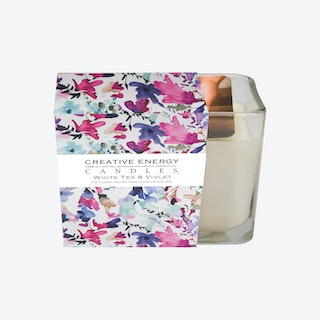 Scented Candle - White Tea & Violet