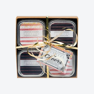 Cheers Scented Candle Gift Set