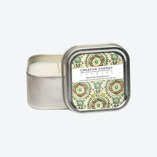Tin Scented Candle - Island Coconut
