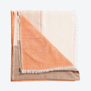 Chestnut Throw - Merino Wool