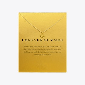 Forever Summer Gold Dipped Mini Charm Pendants