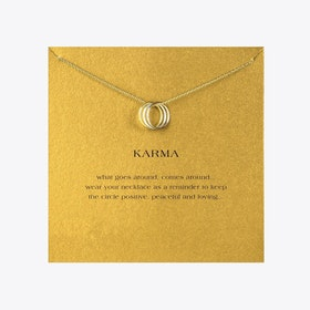 Karma Rings Gold Dipped Mini Charm Pendants
