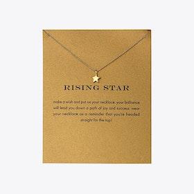 Rising Star Gold Dipped Mini Charm Pendants