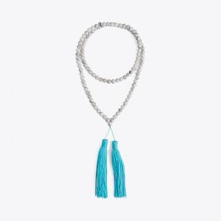 Beaded Tassel Hippy Necklace