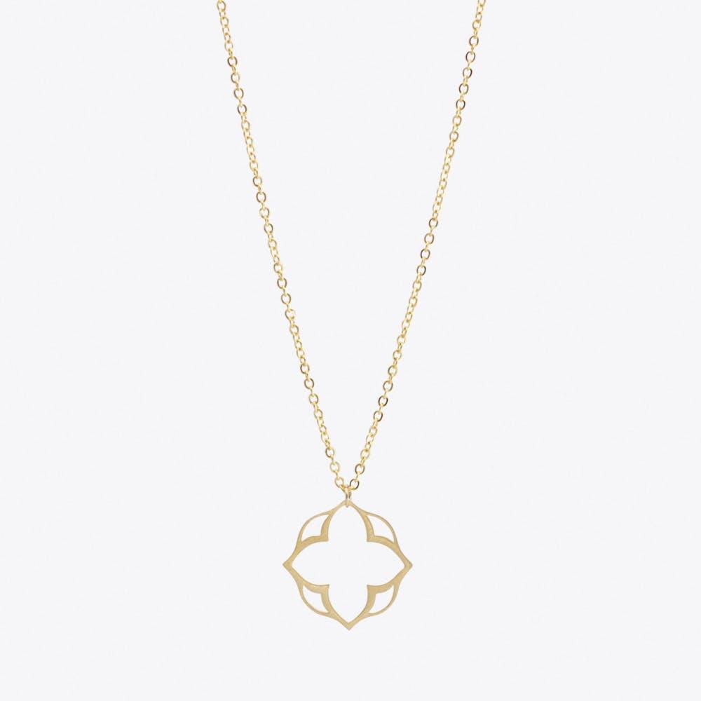 Mini Mandala Pendant Necklace