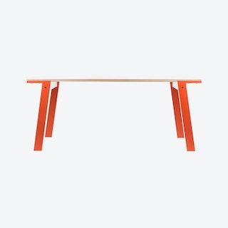 FLAT Table - Foxy Orange