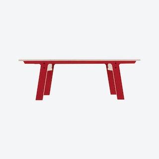 SLIM Bench 01 - Cherry Red