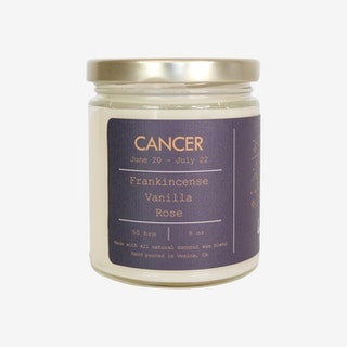 Cancer - Zodiac Sign Natural Scented Candle