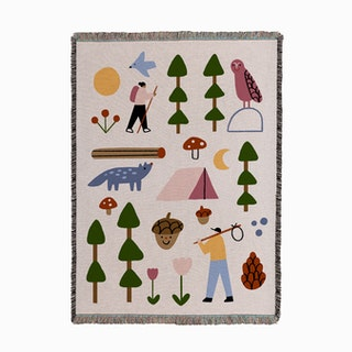 Hiking Adventure Woven Throw