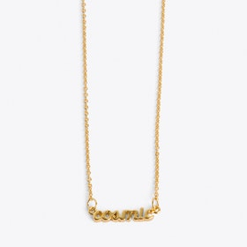 Cosmic Necklace in Gold