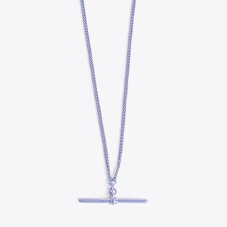 T-bar Necklace in Lilac