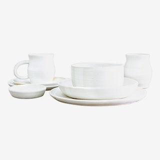 Deluxe Place Setting - Moonstone - Set of 8