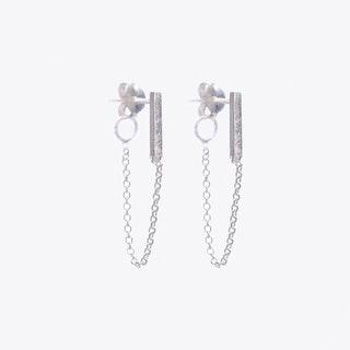 Moment Earrings in Silver