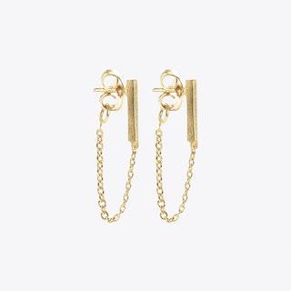 Moment Earrings in Gold