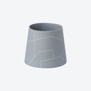 BB x MK Wide Cone Vase - Ash