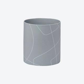 BB x MK Cylinder Vase - Ash
