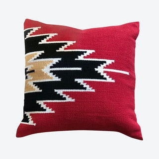 Kilim Pillow Cover - Rusty Red