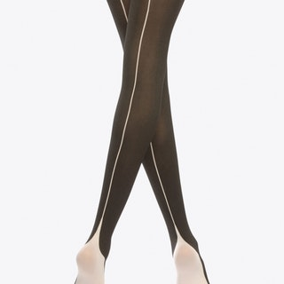 Two Toned Pyramid Tights