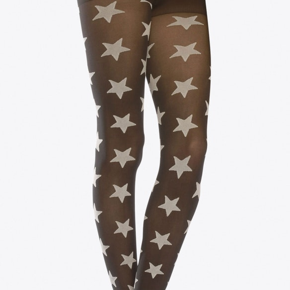 599f488f0f798 Two Toned Stars Tights In White by emilio cavallini. Discover Misc ...