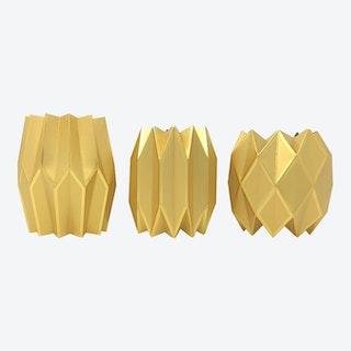 Vase Wraps - Gold - Set of 3