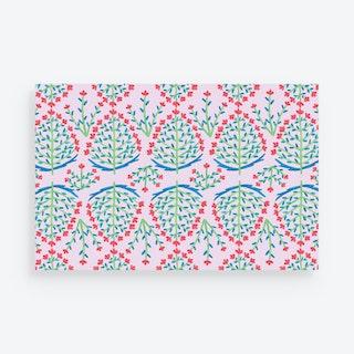 Block Print Placemats - Paper - Set of 24