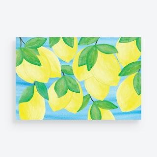 Lemon Placemats - Paper - Set of 24