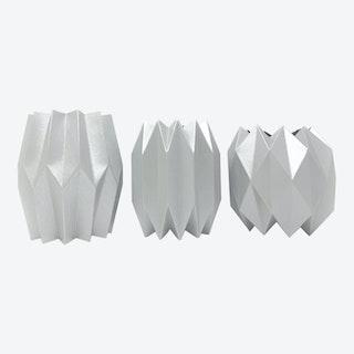 Vase Wraps - Silver - Set of 3