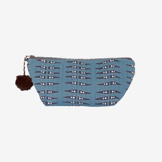 Anabel Makeup Pouch - Blue