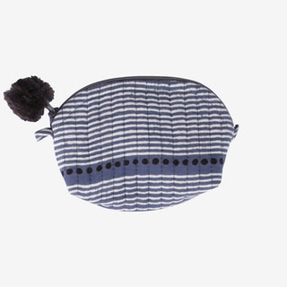 Laya Crescent Pouch - Blue