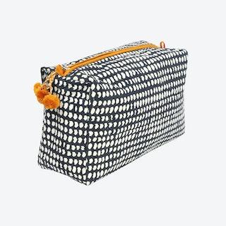 Dot Toiletry Bag - Navy