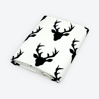 Deer Fitted Crib Sheet