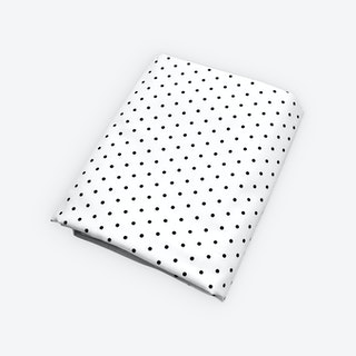 Dot Fitted Crib Sheet