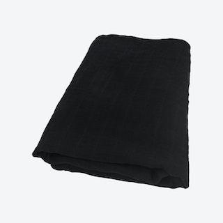 Solid Swaddle - Black