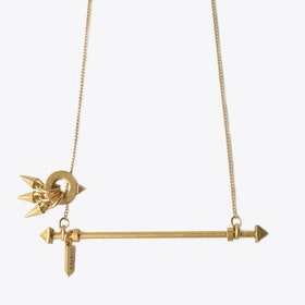 Bellis Necklace in Gold