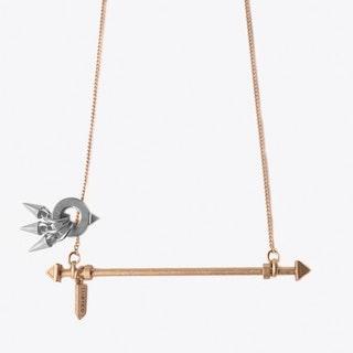 Bellis Necklace in Rose Gold